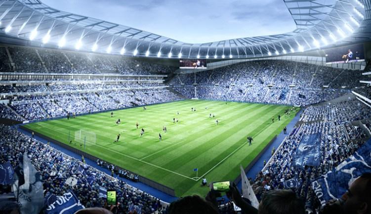 Nuevo estadio del Tottenham Hotspur F.C. de Londres